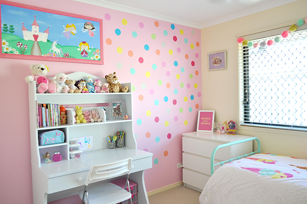 {The Organised Housewife} Girls Bedroom Makeover 23