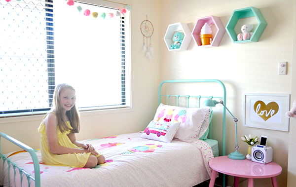{The Organised Housewife} Girls Bedroom Makeover 26