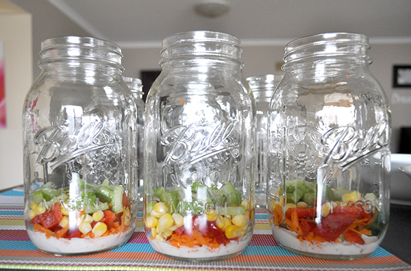 {The Organised Housewife} Mason Jar Salad 6