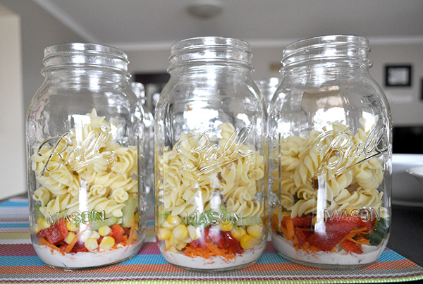 {The Organised Housewife} Mason Jar Salad 7