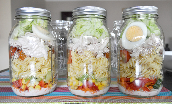 {The Organised Housewife} Mason Jar Salad 9