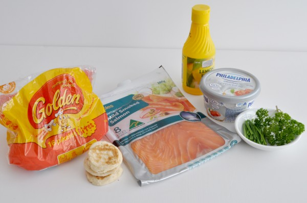 {The Organised Housewife} Mini Smoked Salmon Pikelets 1