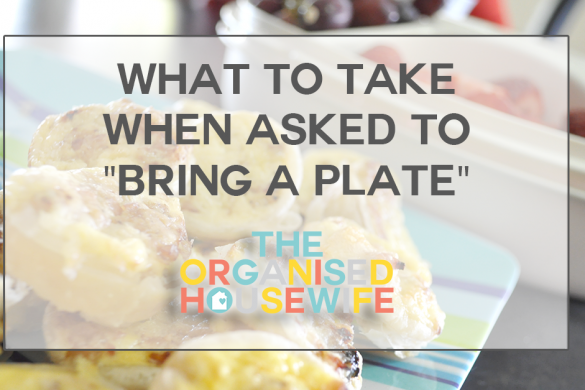 What to take when asked to bring a plate ideas