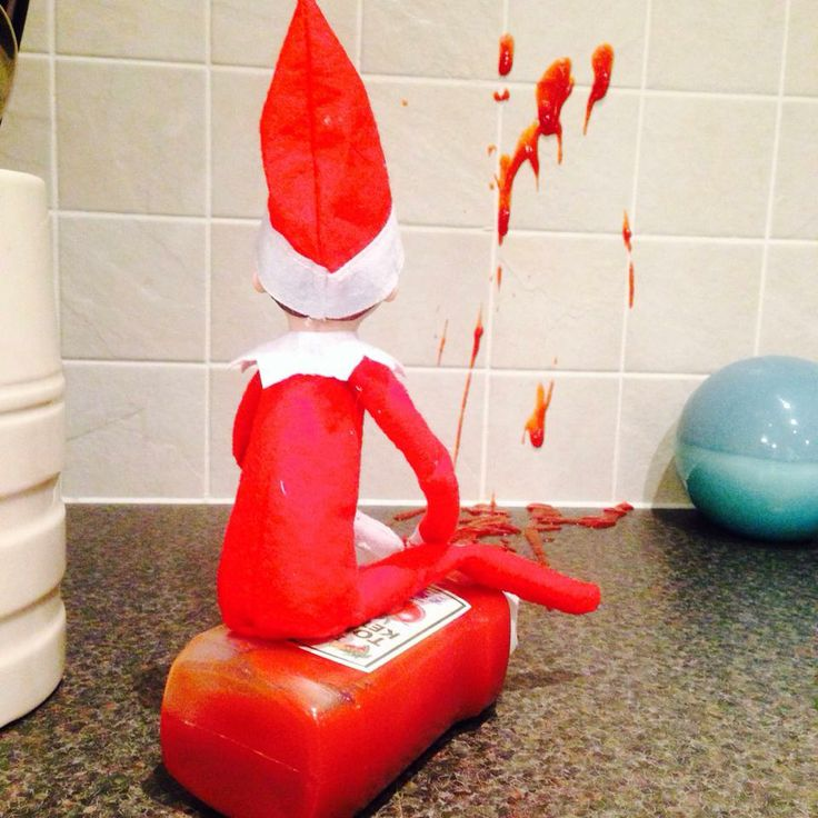 elf on the shelf idea 13