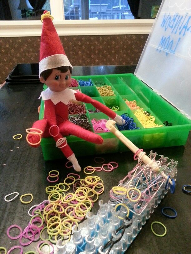elf on the shelf idea 5