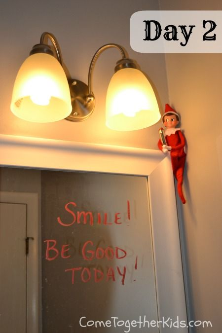 elf on the shelf idea 9