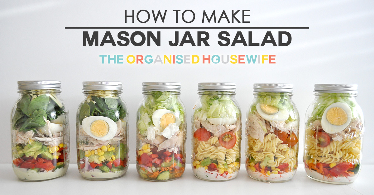 Mason Jar Salads and More: 50 Layered Lunches ... by Mirabella, Julia 1612432891