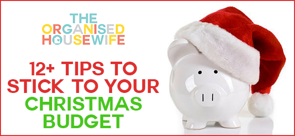 tips to sticking to christmas budget 2