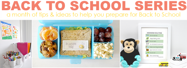 2015 back to school tips and ideas series