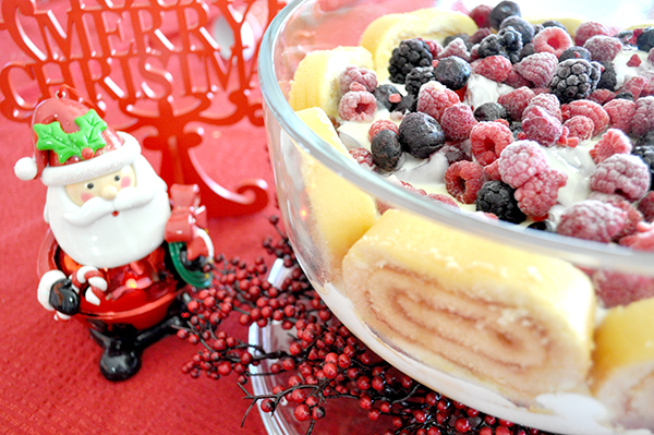 {The Organised Housewife} Christmas Trifle Recipe 1