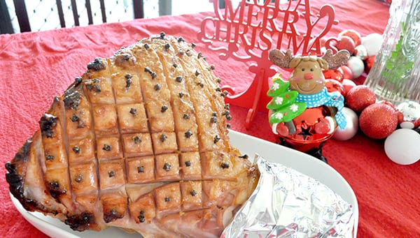 {The Organised Housewife} Glazed Christmas Ham Recipe