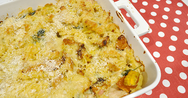 {The Organised Housewife} Turkey Pasta Bake left over