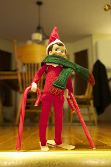 elf on the shelf idea 21