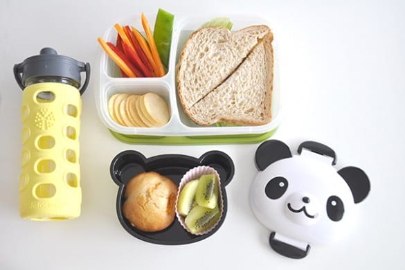 Lunchbox with Rice Crackers