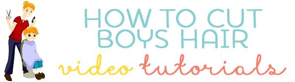 how to cut boys hair tutorial