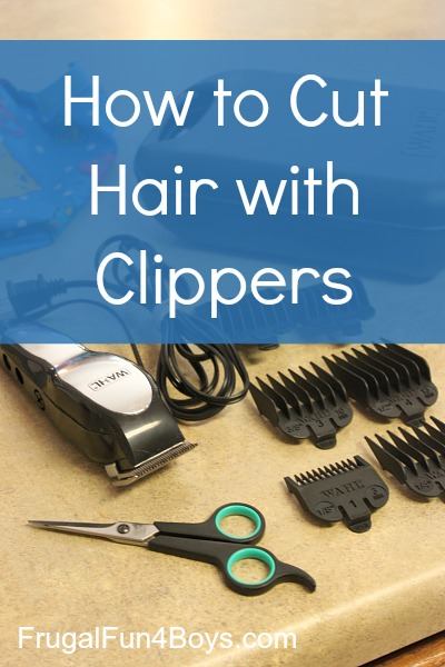 Cutting Boys Hair with Clippers