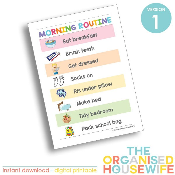 {The-Organised-Housewife}-Morning-Routine-Chart---Rainbow---Version-1