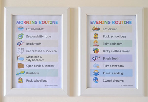 Tips For An Organised Before School Morning Routine The