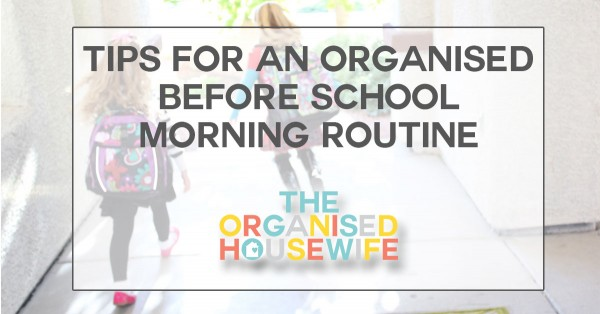 tips-for-an-organised-before-school-morning-routine