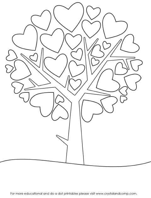 valentins day crafts an coloring pages - photo #13