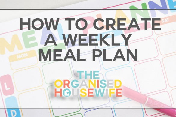 _How-to-create--a-weekly--meal-plan