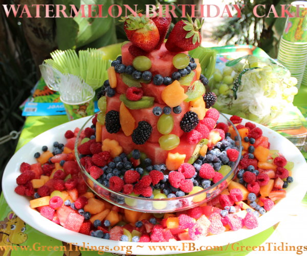 watermelong fruit cake 2