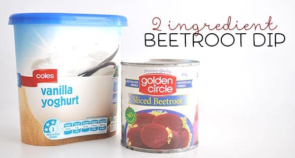2-Ingredient-Beetroot-Dip