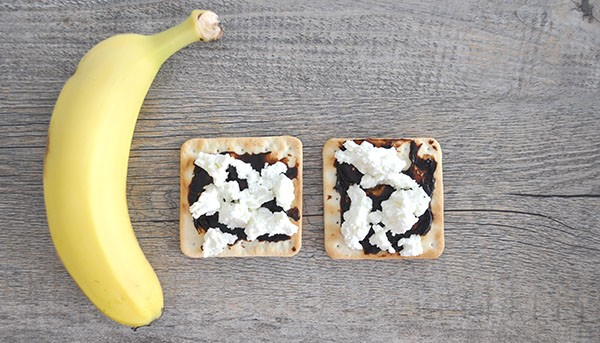 Healthy After School Snack Idea - cottage cheese 1