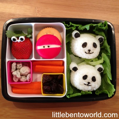 how to make a bento lunch box in less then 5 minutes the organised housewife. Black Bedroom Furniture Sets. Home Design Ideas