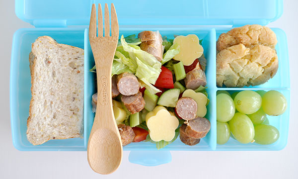 Kids-Lunchbox-Idea-Sausage-Salad