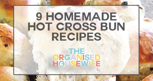 Homemade-Hot-Cross-Bun-Recipes