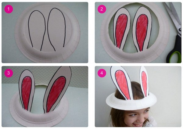 Quick-Easy-Easter-Bonnet-Idea-Paper-Plate-Bunny-Ears