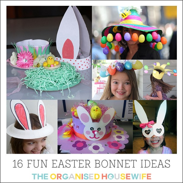 kids easter bonnet ideas