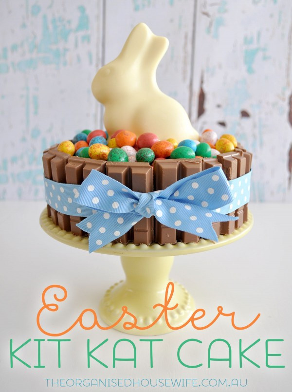 Easter Kit Kat Cake Good Friday Meal Plan Idea The