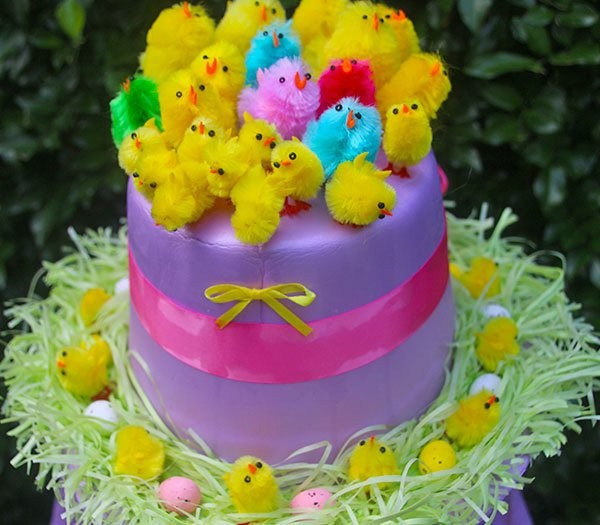 easter-bonnet-for-kids-chicks-in-a-nest