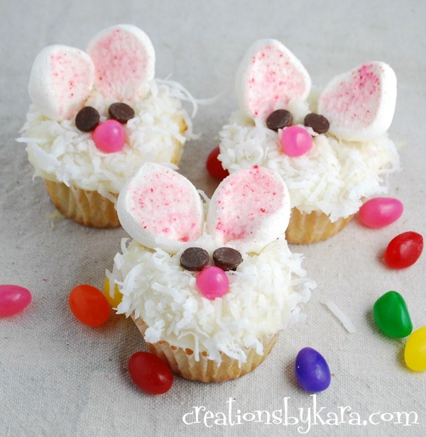Easter cupcake ideas the organised housewife for Cute cupcake decorating ideas for easter