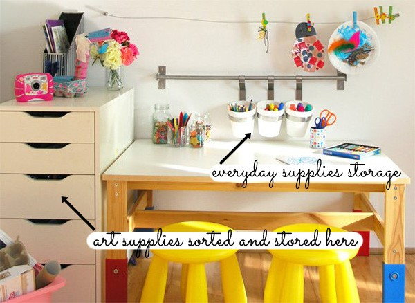 4 kids craft storage ideas the organised housewife