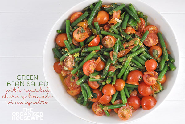 cherry tomato and green bean salad serves ingredients 450 g green ...