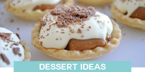 dessert meal ideas