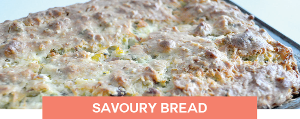 savoury bread lunch meal ideas