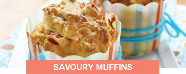 savoury muffins lunch meal ideas