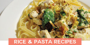 rice and pasta dinner meal ideas