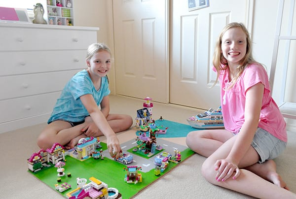 Great Bonding Time For My Girls With Lego Friends