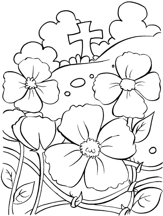Anzac Day Colouring Page 1