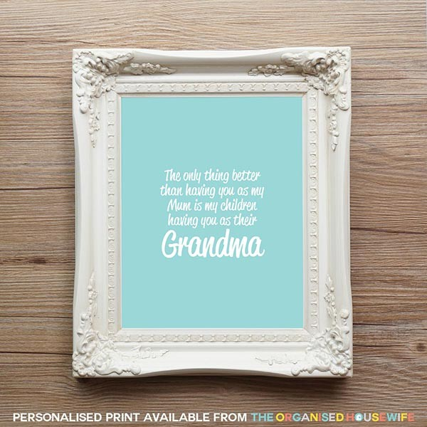 Having you as print - Grandma - 7