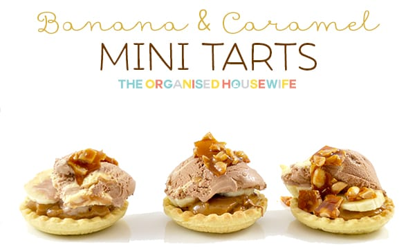 Banana and Caramel Tarts