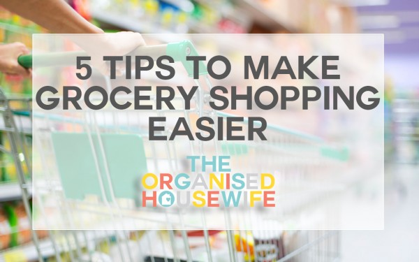 These tips to make grocery shopping easier will to help reduce the time you spend at the grocery store, cut the cost and eliminate shopping frustration.