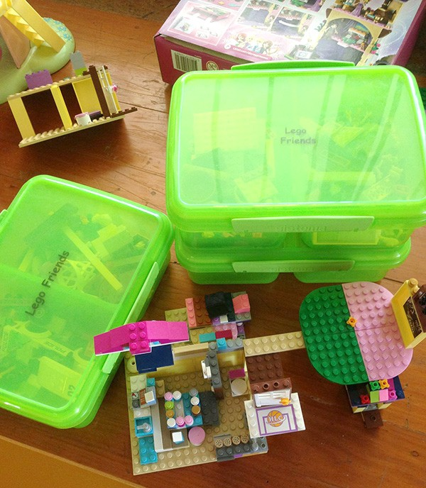 Clever storage solutions for childrens toys