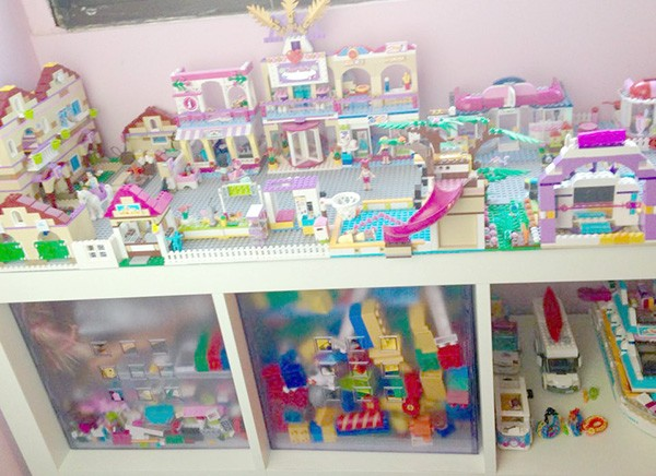 Solutions for messy toys - keep them tidy
