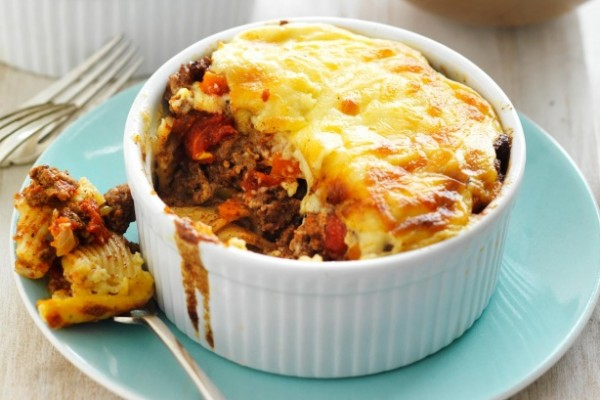 diced tomato recipe Pastitsio